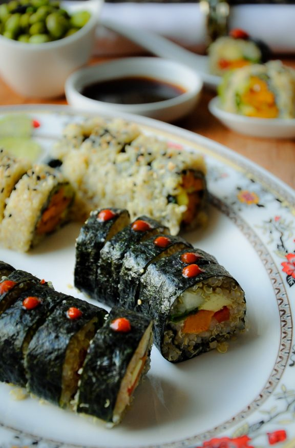 n is for nori and nutrient pollution